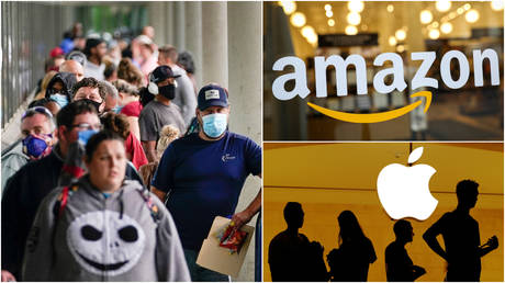 amazon-posts-record-profits-as-apple-thanks-stimulus-aid-for-forecast-beating-earnings,-despite-worst-us-quarter-on-record