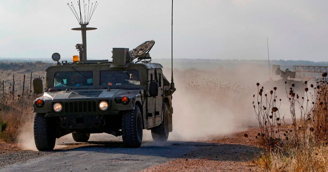 israel-says-it-hit-bombers-on-syrian-boundary