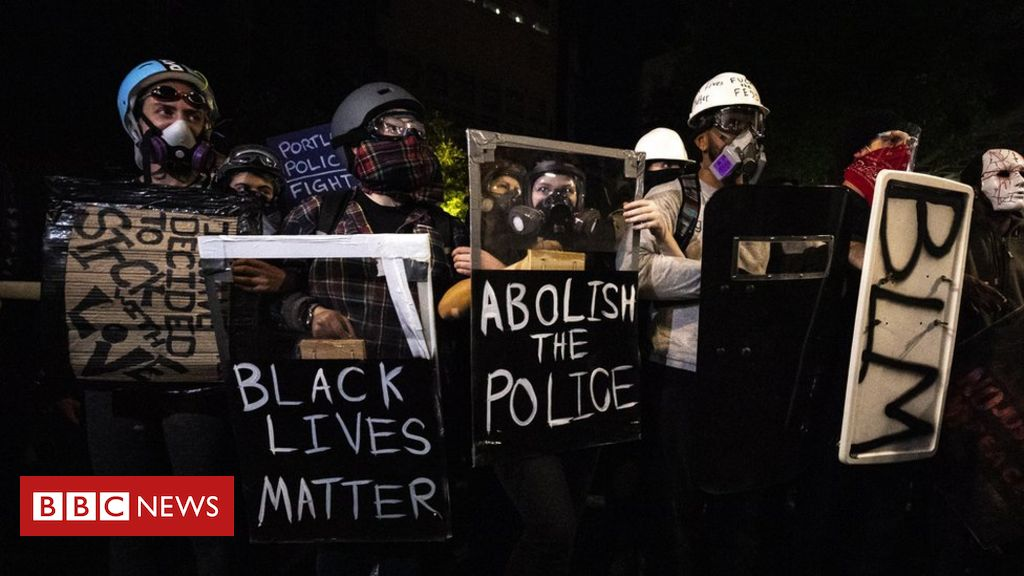 us-protests:-dark-clad-thugs-on-planes-and-other-claims-fact-checked