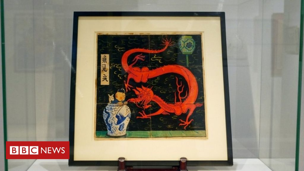 the-blue-lotus:-rare-tintin-painting-sells-for-record-e3.2m