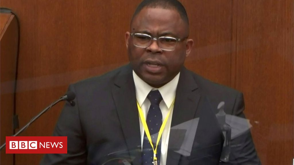 george-floyd:-expert-witness-criticises-use-of-force-during-arrest