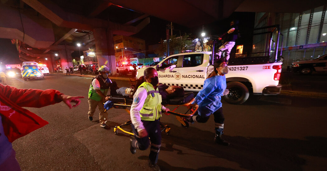 after-mexico-city-train-collapse,-families-search-for-the-missing
