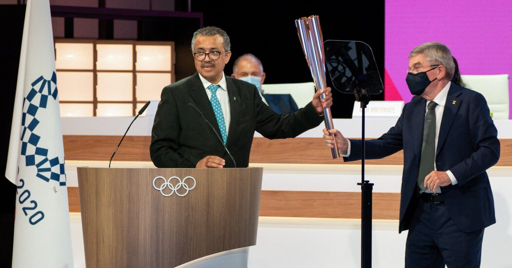 who.-leader-endorses-olympics-as-'celebration-of-hope'