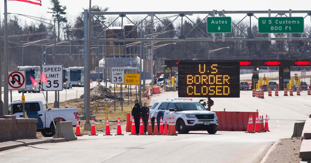 us.-reaffirms-land-border-restrictions-with-canada-and-mexico