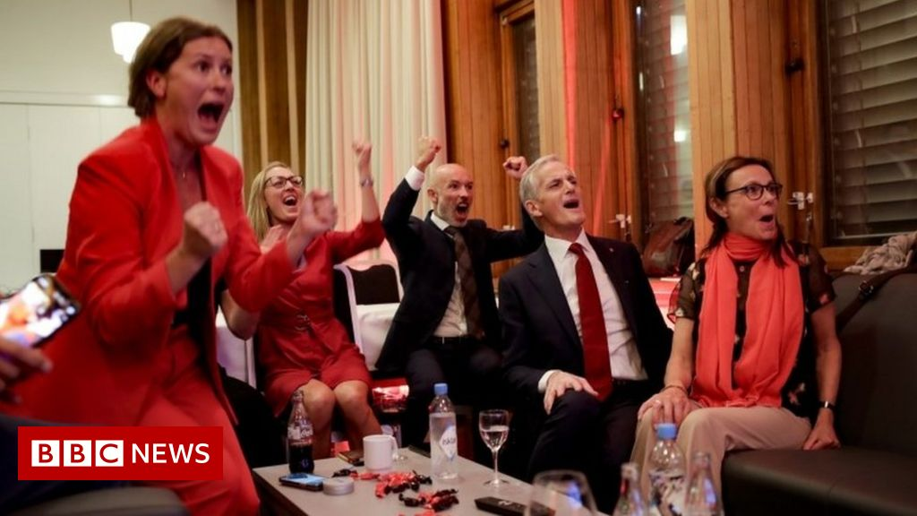 norway's-centre-left-defeats-solberg's-conservative-rule