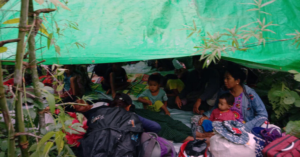myanmar's-army-escalates-attacks-on-a-struggling-resistance